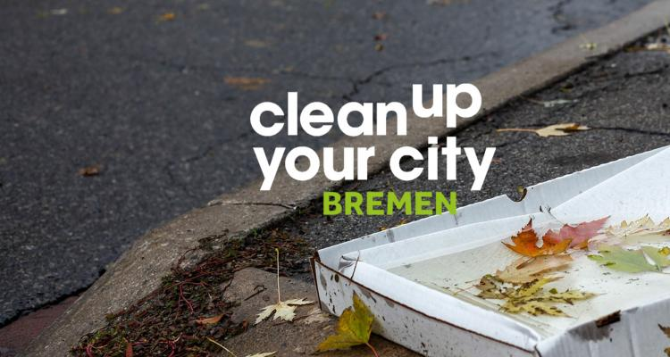 Findorff FAIRputzen mit »Clean up your City – Bremen«
