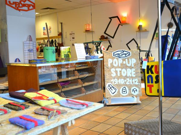 2019.11 upsign bremen upcycling pop up store